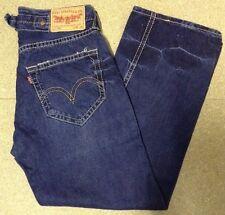 Levi 902 Loose Fit progettato arricciati sul retro jeans W30-L32 ref L387