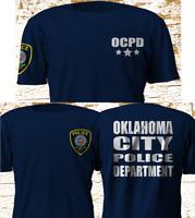 New OKLAHOMA City Police Department OCPD Military Army Navy T-Shirt S-4XL