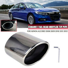 EXHAUST TAIL REAR MUFFLER TIP PIPE For Honda Accord 2008 2009 2010 2011 2012