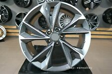 New 21 inch 5x112 RS7 design grey polished wheels for Audi A4 A5 A6 A7 A8 Sline