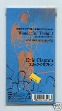 "Eric Clapton/Wonderful Tonight + 1 (Japan/3"" CD Single/Sealed)"