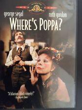 Where's Poppa? (1970, DVD) George Segal, Ruth Gordon DVD