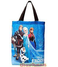 Disney Frozen Large Tote bag Anna Kristoff Sven Olaf Elsa Shopping bag, NEW