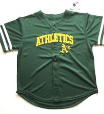 NEW - Kids MLB Oakland As Boys Team Jersey - Youth Sizes S, M, L