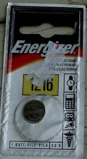 Energizer 1216 Cell Battery - For watches, car keys, and more - BRAND NEW
