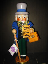 Steinbach 261 Scrooge  Nutcracker - Christmas Carol Series signed by Christian