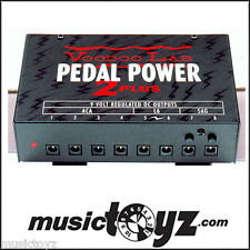 Voodoo Lab Pedal Power 2 Plus Guitar Pedal Power Supply - NEW - FREE Ship/Gift