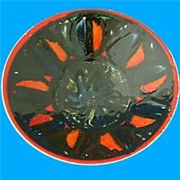 Poole Pottery Jean Millership Delphis Abstract Bowl