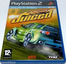 PlayStation 2 jeu video JUICED course autos de rue console ps2 bon état complet