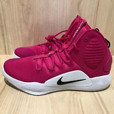 NEW Nike Hyperdunk X TB Promo 2018 Mens Pink Cancer Awareness AT3866-609 SZ 10.5