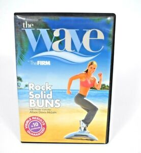 GAIAM - The Wave: Rock Solid Buns (DVD, 2008) Lower Body Workout (DVD ONLY)