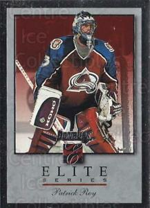 1996-97 Donruss Elite Inserts #10 Patrick Roy
