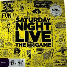 Saturday Night Live The Laughing Guessing Improv Board Game