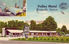 1956 VALLEY MOTEL East of TERRE HAUTE, INDIANA Owners - Mr & Mrs J P Storer