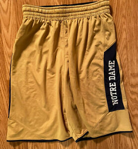 Notre Dame Football Team Issued Under Armour Shorts Large
