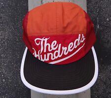 New The Hundreds Orange Strap Snapback 5 Panels Camping Hat Cap HTHD-50