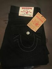 TRUE RELIGION BRAND JEANS MENS BLACK JOEY FLARE JEANS SZ 44