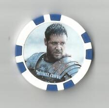 """*Gladiator* """"Russell Crowe"""" Collector Chip"""