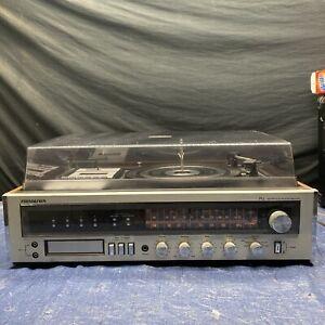 Vintage Soundesign AM/FM Stereo Cassette Recorder Turntable Model 69D