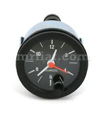 Fiat 124 Spider Clock Black Ring New