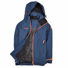 Bergans Of Norway Junge Kinder Jacke Jacket Regenjacke Gr.140 Arendal Blau 88049