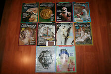 Set of 10 Biblical Archaeology magazines 2014, 2015, 2016