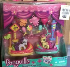 New My Little Pony Ponyville Bumper Cars Sweetie Belle And Royal Bouquet