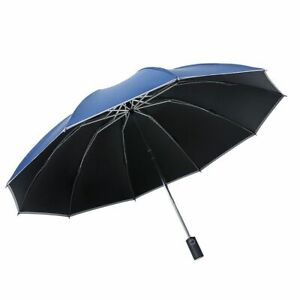 New Business With Reflective Strips Umbrella Automatic Reverse Folding Windproof