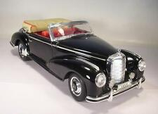 Welly 1/18 Mercedes Benz 300S Cabrio schwarz #1636
