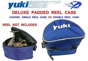 YUKI REEL CASE PADDED FOR AMG SURF OKUMA DAM SONIK ABU DAIWA SHIMANO YUKI REELS