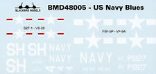 Navy Blues Pt:2 1/48th scale decals