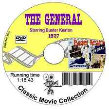 The General (1927) Buster Keaton silent comedy film DVD