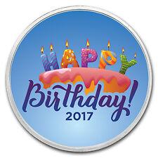 1 oz Silver Colorized Round - APMEX (Birthday Candles) - SKU: 117995