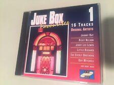 Juke Box Favorites #1 CD 16TRACKS w/Jerry Lee Lewis, Little Richard, R. Nelson +