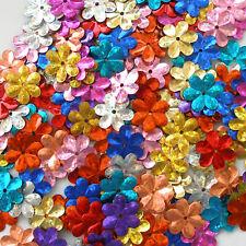 Sequins Daisies / Flowers / 6 Petals Mixed Colors Hologram 100 pieces