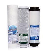 Set di 5 Micron Filtro • blocco di carbonio • Carbone Attivo • OSMOSI INVERSA • Sostituzione