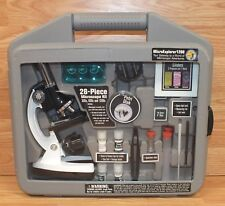 Genuine Meade Micro Explorer 1200 Microscope Adventure Kit With Hard Case *READ*