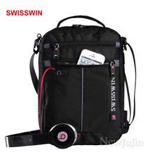 "Swisswin Swiss Women Shoulder Bag Men Messenger Day Bag Wallet Medium 10"""