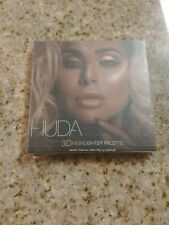 Authentic New Huda Beauty 3d highlighter palette Pink Sands