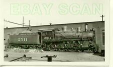 8D051 RP 1930s/40s MOPAC MISSOURI PACIFIC RAILROAD 4-6-0 LOCO #2511