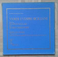 B210 VERDI I VESPRI SICILIANI CALLAS CHRISTOFF KLEIBER 3 x LP TURNABOUT VOX