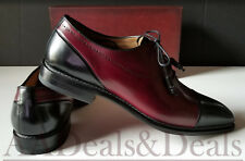 New Mens Mezlan, Antico Spectator Cap Toe Dress Shoes Size 13 Stunning!