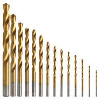 99Pcs/Sets 1.5MM-10MM Titanium Coated Metal High Speed Steel Drill Bit Set Tool