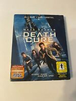 Maze Runner: The Death Cure w/ Slipcover (Bluray/DVD, 2018) [BUY 2 GET 1]