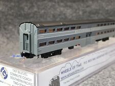 Wheels Of Time N Southern Pacific 1957 Bi-Level Commute Coach Two-Tone #3711