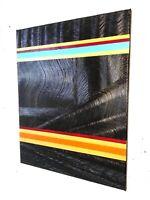 Peinture toile abstraite contemporaine format 40/50 cm