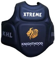 KHL Poitrine Protecteur Guard Shield Pro Karaté Body Armour MMA Kick Boxing Boxe