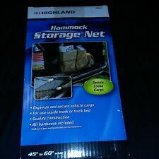 Highland Hammock Style Storage Net New Other Automotive Cars Trucks Vans Suvs
