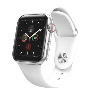 W58 Pro IWO 13 MAX Smart Watch Series 5 38/40MM - 24-hour body temperature White