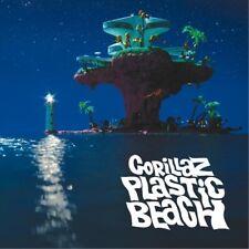 "Gorillaz ""Plastic Beach"" Art Music Album Poster Print 12"" 16"" 20"" 24"" Sizes"